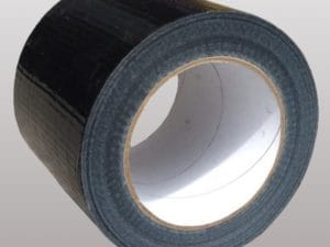Roll of geotextile membrane joining tape
