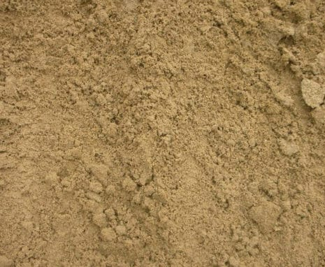 Close up of silica sand