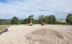 construction of equine arena surface